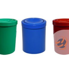 Cesto de Lixo Com Tampa Flip-Top