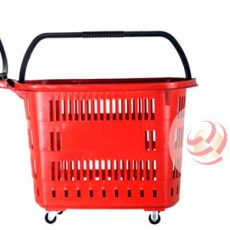 Cesto Supermercados com Rodas