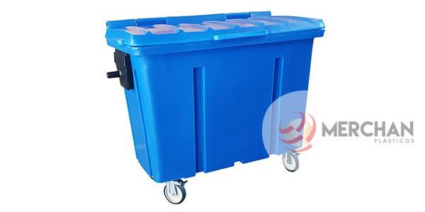 Container Plásticos 500 Litros