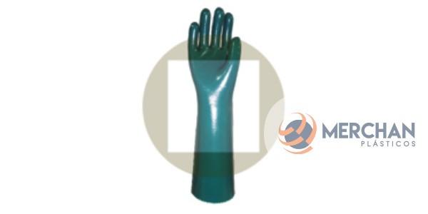 Luvas PVC Forrada Palma Lisa